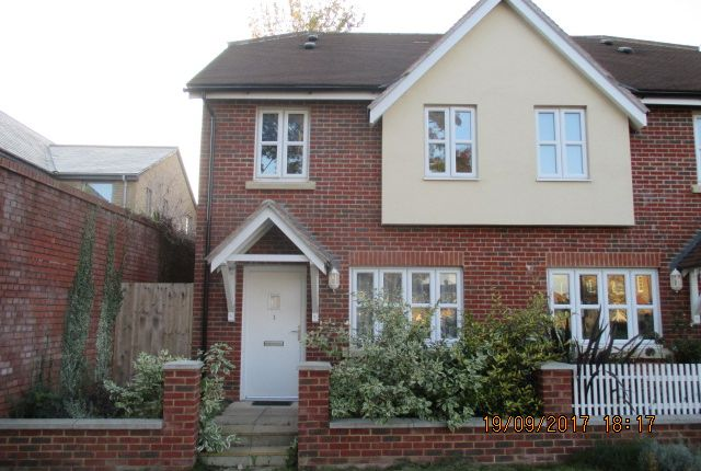Thumbnail End terrace house to rent in Selsey Road, Chichester
