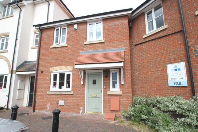 Thumbnail End terrace house to rent in Caxton Close, Tiptree, Colchester