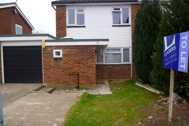 Thumbnail Semi-detached house to rent in Pontoise Close, Sevenoaks