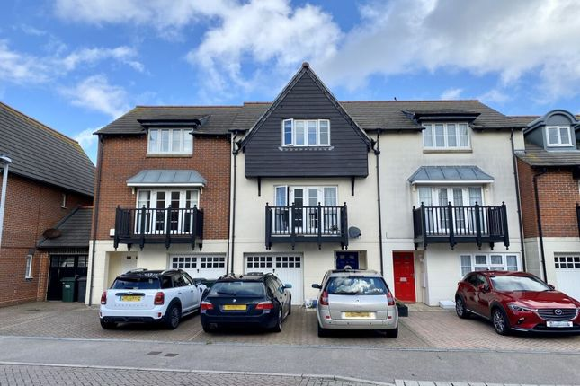 Thumbnail Terraced house for sale in Admiralty Way, Eastbourne