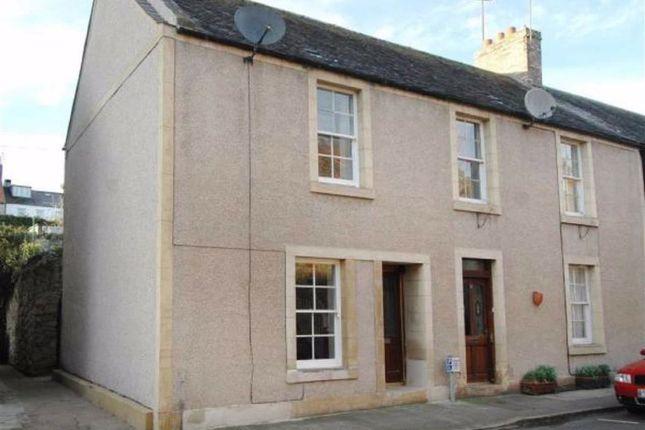 Thumbnail End terrace house for sale in Duke Street, Coldstream, Berwickshire