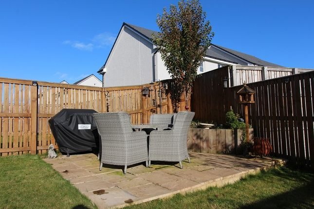 Patio of 4 Dunrobin Grove, Ness Castle, Inverness IV2