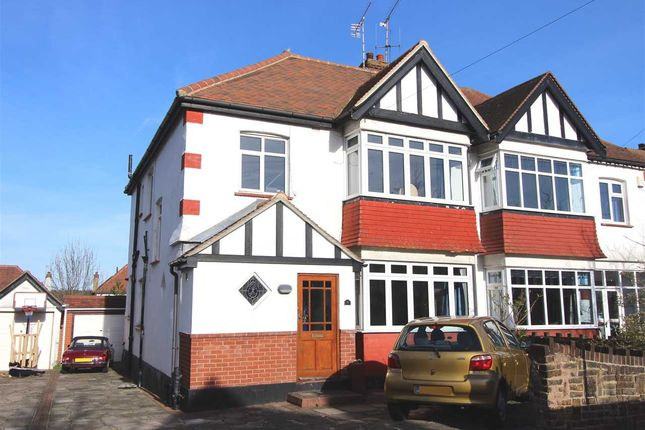 Thumbnail Semi-detached house for sale in St. Davids Drive, Leigh-On-Sea