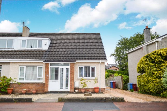 Thumbnail Semi-detached house for sale in Meadows Avenue, Larkhall