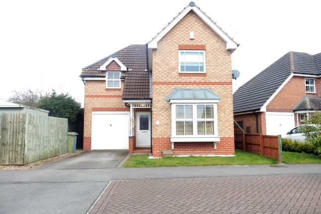Thumbnail Detached house for sale in Kingfisher Walk, Gateford, Worksop