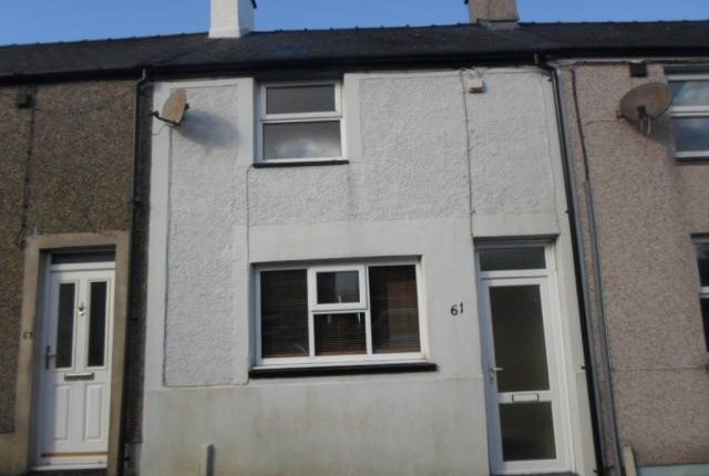 Thumbnail Terraced house for sale in 61 Rhedyw Road, Llanllyfni, Llanllyfni