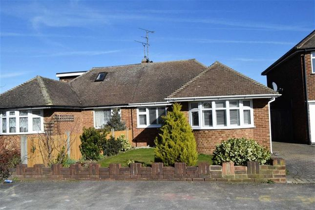 Thumbnail Semi-detached bungalow to rent in Chalky Bank Road, Rainham, Gillingham