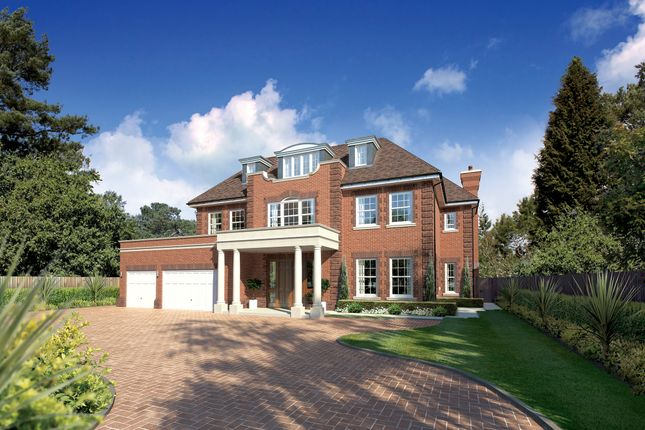 Thumbnail Detached house for sale in Fairbourne, Cobham