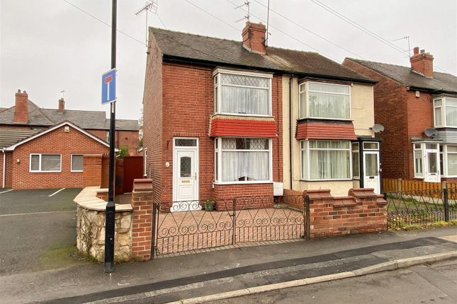 Thumbnail Semi-detached house for sale in Grove Avenue, York Road, Doncaster