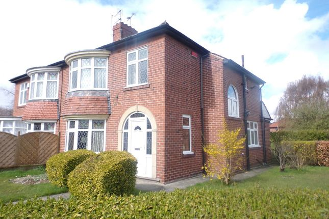 Thumbnail Semi-detached house for sale in York Avenue, Jarrow