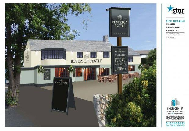 Thumbnail Pub/bar to let in Boverton, Llantwit Major
