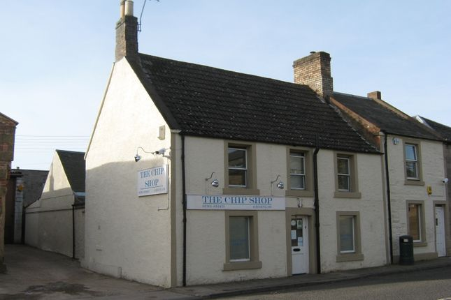 Thumbnail Restaurant/cafe for sale in The Square, Greenlaw, Berwickshire