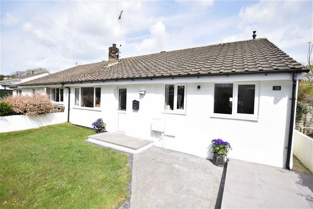 Thumbnail Semi-detached bungalow for sale in Hallett Way, Bude