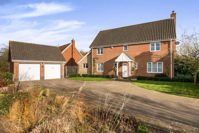 Thumbnail Detached house for sale in Little Melton, Norwich, Norfolk