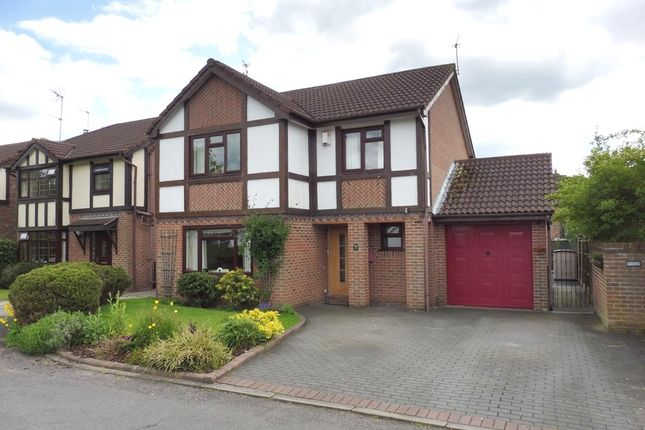 Thumbnail Detached house for sale in Redshank Avenue, Darnhall, Winsford