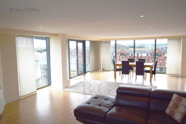 Thumbnail Flat to rent in City Wharf, Cardiff