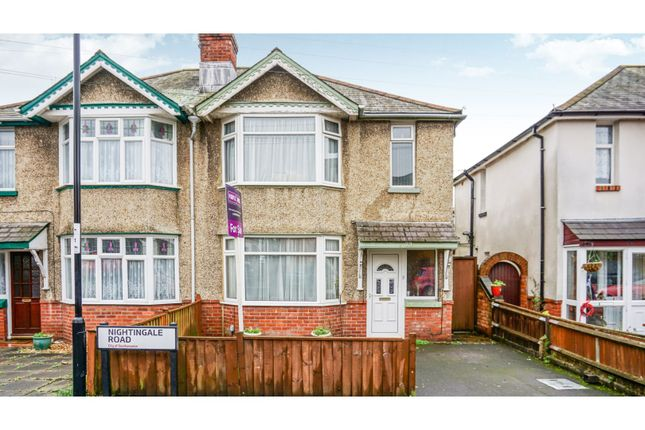 Thumbnail Semi-detached house for sale in Nightingale Road, Southampton