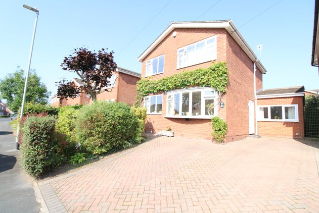 Thumbnail Detached house for sale in St. Austell Avenue, Macclesfield