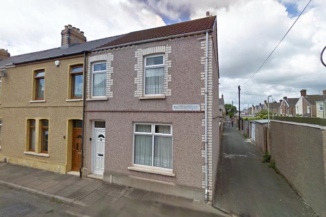 Thumbnail End terrace house to rent in Frederick Street, Aberavon, Port Talbot