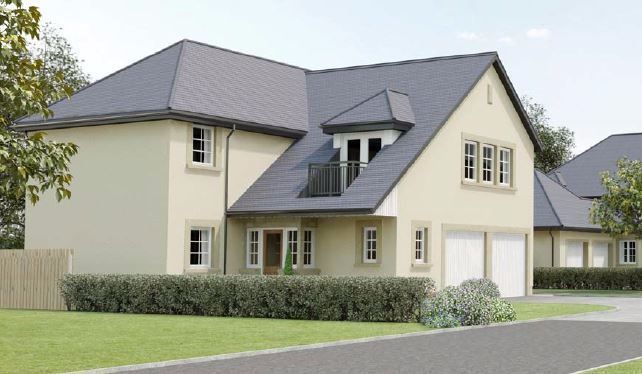 Thumbnail Detached house for sale in East Calder, Livingston