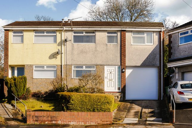 Thumbnail Semi-detached house for sale in Cwrt Y Goedwig, Llantwit Fardre, Pontypridd