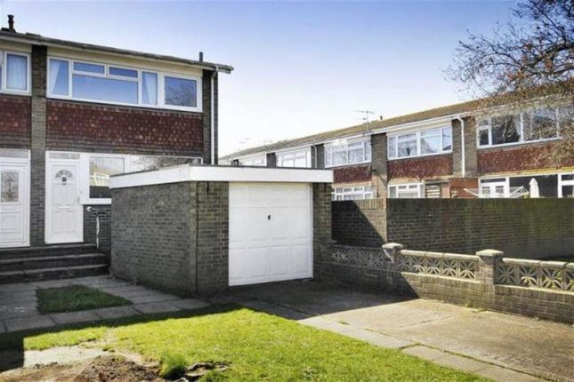 Thumbnail End terrace house for sale in Castle Road, Tarring, Worthing, West Sussex