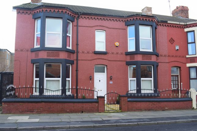 Thumbnail End terrace house for sale in Scarisbrick Avenue, Liverpool
