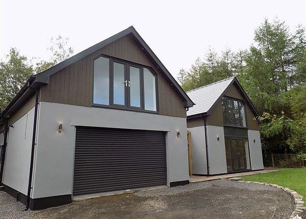 Thumbnail Detached house for sale in Old Brick Yard, Darren Felin Road, Brynmawr