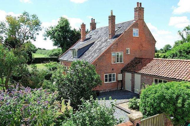 Thumbnail Detached house for sale in Halesworth Road, Ilketshall St Lawrence