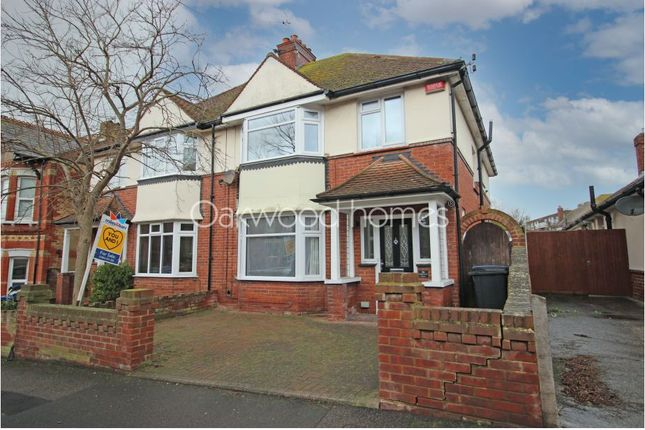 Thumbnail Semi-detached house to rent in Cliftonville Avenue, Cliftonville, Margate