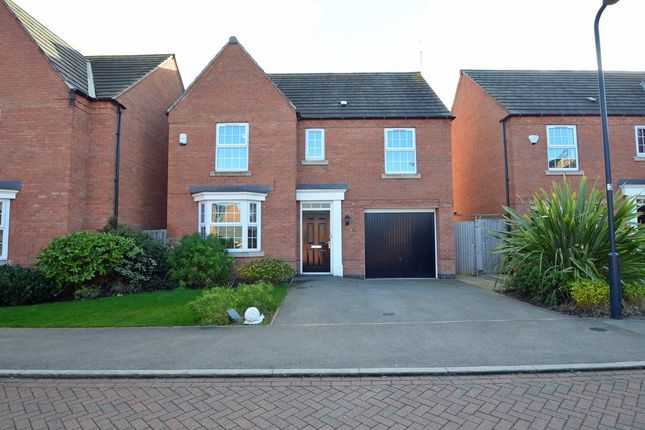 Thumbnail Detached house for sale in Smithhill Place, Coton Park, Rugby