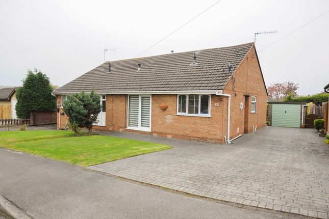 Thumbnail Semi-detached bungalow for sale in Brearley Avenue, New Whittington, Chesterfield
