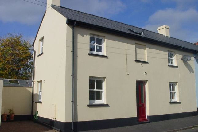 Thumbnail Terraced house to rent in Charles Street, Brecon