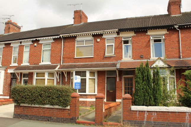 Thumbnail Terraced house to rent in Ruskin Road, Crewe, Cheshire