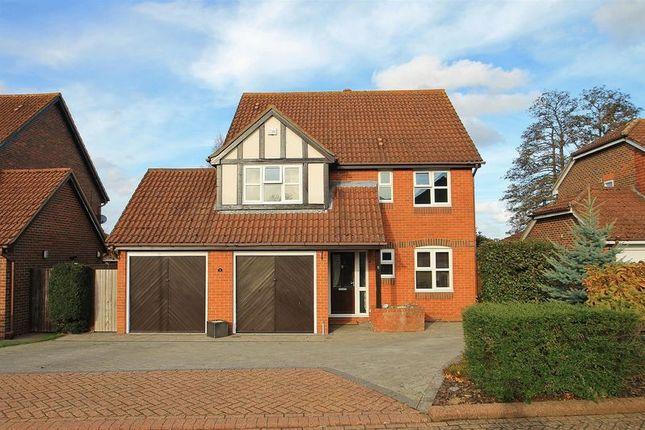 Thumbnail Detached house for sale in Sanger Drive, Send, Woking