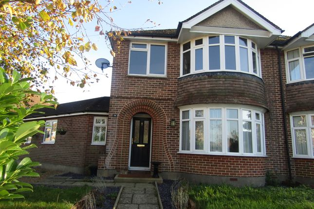 Thumbnail Semi-detached house for sale in Whyke Road, Chichester, West Sussex
