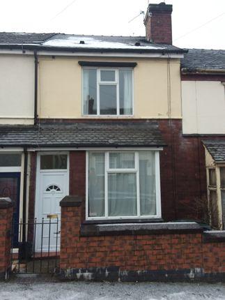 Thumbnail Terraced house to rent in Leigh Street, Burslem, Stoke-On-Trent