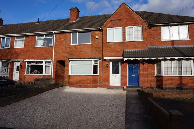 Thumbnail Terraced house for sale in Churchdale Road, Birmingham