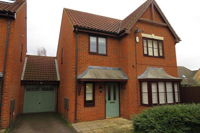 Thumbnail Link-detached house to rent in Castle Acre, Monkston, Milton Keynes