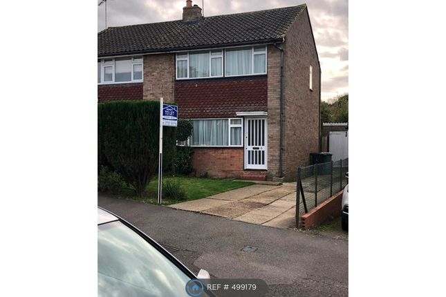 Thumbnail Semi-detached house to rent in Wellesley Crescent, Potters Bar