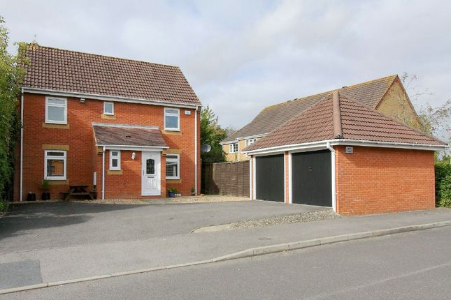Thumbnail Detached house for sale in Borkum Close, Andover