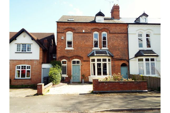 Thumbnail End terrace house for sale in Clarence Road, Moseley, Birmingham