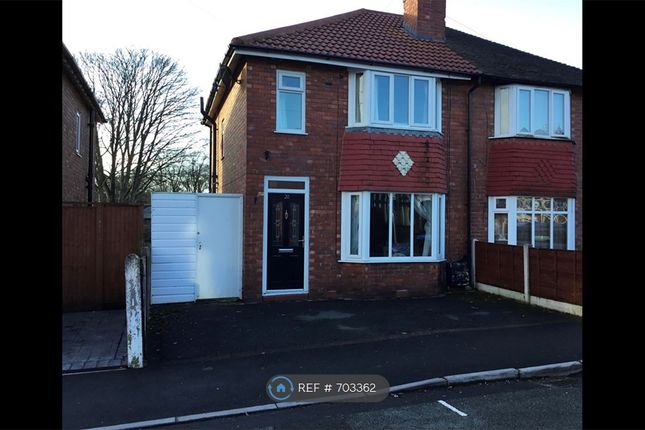 Thumbnail Semi-detached house to rent in Beech Avenue, Hazel Grove, Stockport