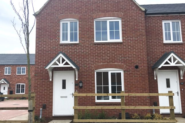 Thumbnail End terrace house for sale in Liberty Gardens, Barkby Road, Syston, Leicestershire