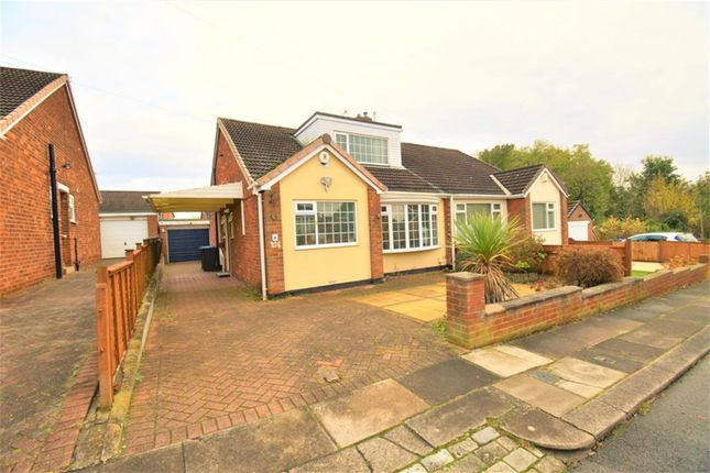Thumbnail Semi-detached bungalow for sale in Sambrook Gardens, Middlesbrough
