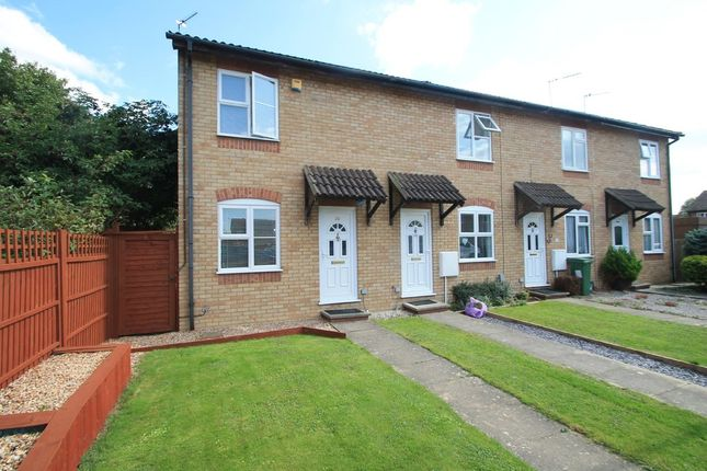 Thumbnail End terrace house for sale in Lodden Close, Aylesbury