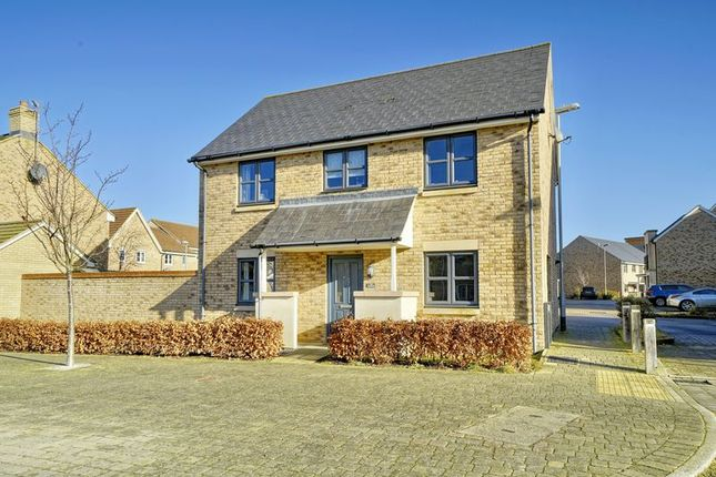Thumbnail Detached house for sale in Fox Brook, St. Neots