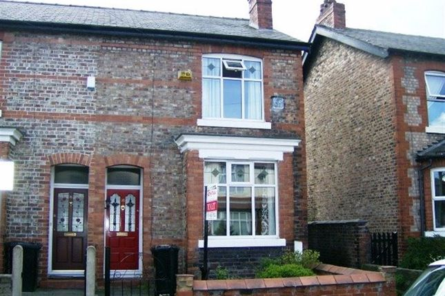 Thumbnail Terraced house to rent in Gladstone Road, Altrincham