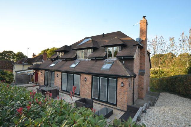 Thumbnail Detached house for sale in Ewshot Lane, Ewshot, Farnham, Surrey