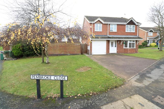 Thumbnail Detached house for sale in Pembroke Close, Rushden